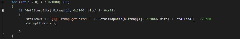 寻找读写的bitmap