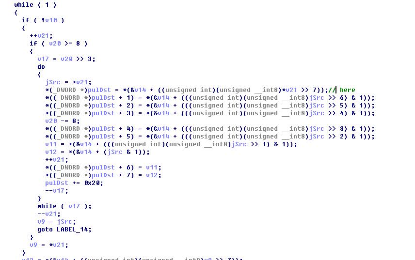 崩溃指令c代码